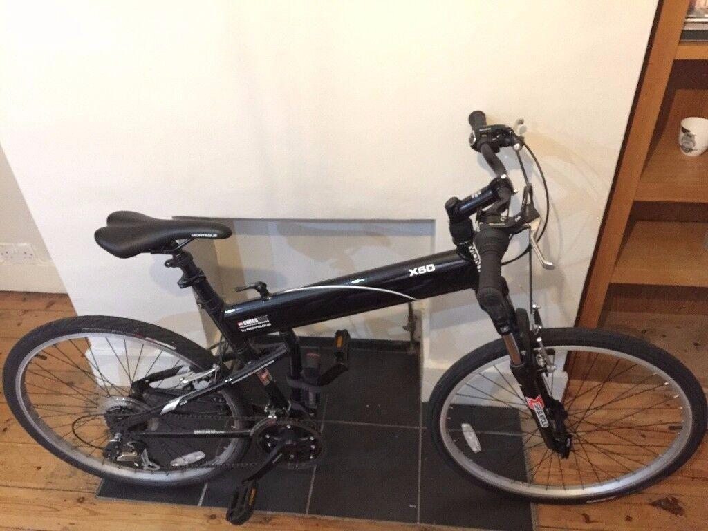 Montague Swissbike X50 Full Size Folding Bike In Clapham London