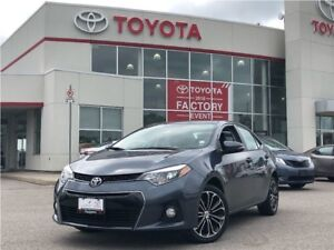 2014 Toyota Corolla S|Leather|Off Lease|TUCV