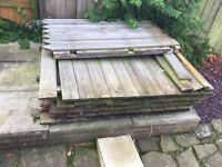 Old Fence wood for a Bonfire / wood burning stove / or anything else