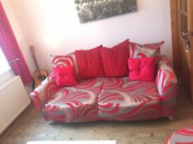 ** FOR SALE ** Sofa, Armchair & Pouffe