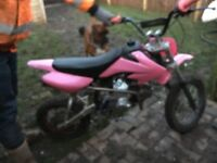 110 pit bike in working order