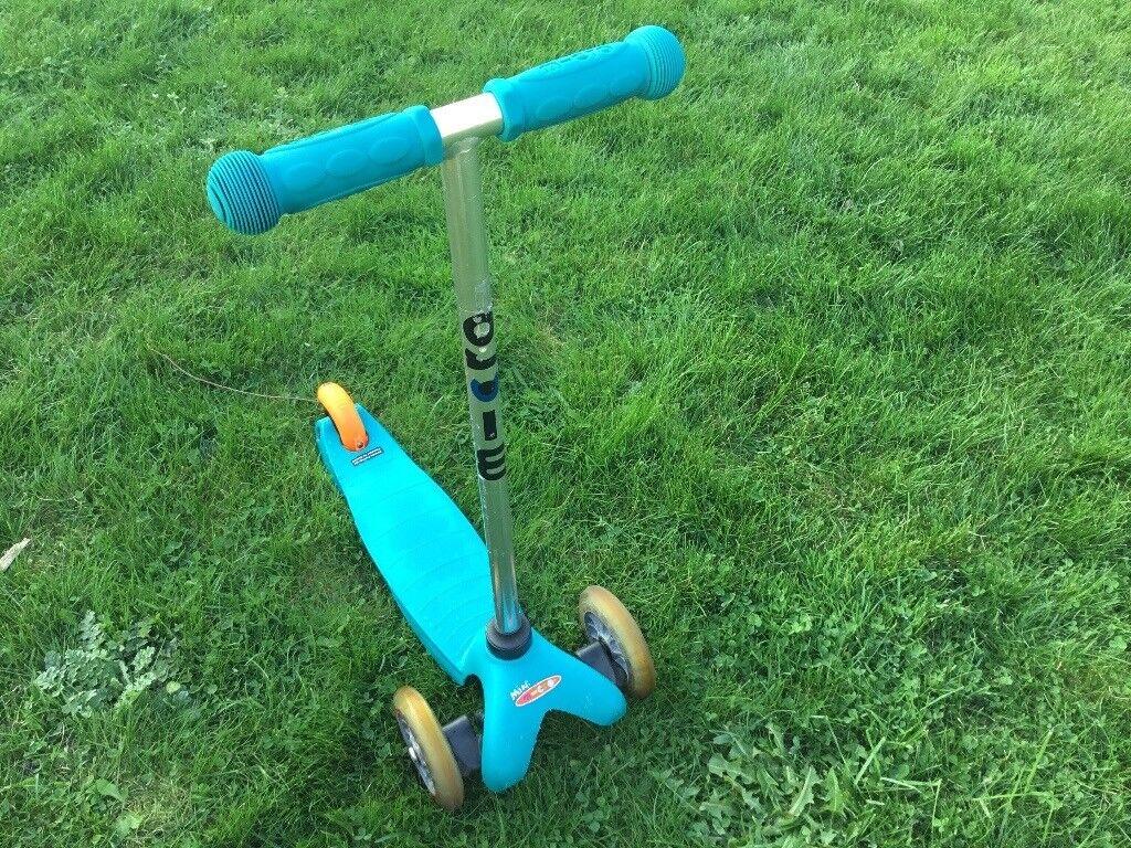 Mini Micro Scooter Aqua for girl or boy