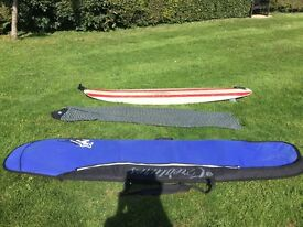 "Roger Cooper Mini Mal Surfboard 8'00"" x 22"" for sale"