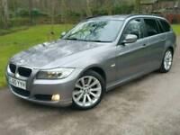 2010 60 BMW 320D SE BUSINESS ED'N**AUTO**FSH*LEATHER*SAT-NAV*H/SEATS+STEERING*I-DRIVE#MINT#530D#AUDI