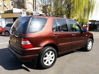Mercedes ml 4.3 v8 Auto 7 seater // LPG Conversion // FSH