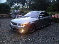 2006 BMW 530D M SPORT REMAP 310 BHP, FULL LEATHER, SAT NAV,BLUETOOTH