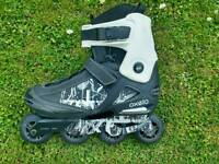Oxelo in-line roller blades/skates