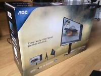 """AOC 25"""" WQHD 1440p IPS LED monitor"""