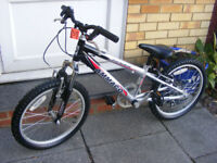 "BOYS 20"" WHEEL BIKE IN GREAT WORKING CONDITION AGE 7+"