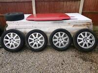 """16"""" FORD ALLOYS, ALLOY WHEELS, EXCELLENT TYRES"""