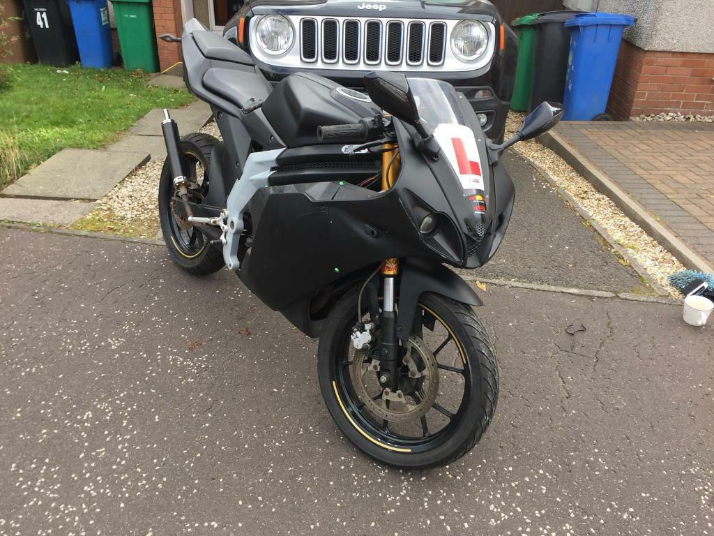 Rieju RS3 50cc superbike moped learner may swap | in Dunfermline, Fife |  Gumtree