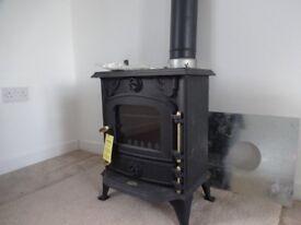 5Kw Wood burning stove brand new never used