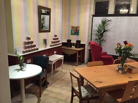Run your own Cafe   Cake Shop   or Entertainment Venue in Stratford.