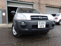 55 HYUNDAI TUCSON 2.0 DIESEL AUTOMATIC 4X4,MOT JAN 018,PART HISTORY,2 OWNER,2 KEY,VERY RELIABLE 4X4
