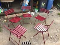Elefant quality beer garden chairs