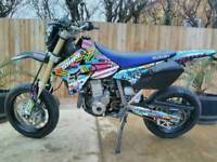 Suzuki drz 400 sm, very low miles, loads of extras and upgrades, fully serviced.