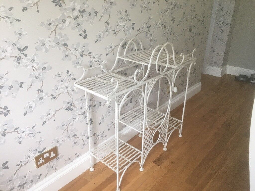 Wrought Iron Display Stand