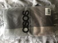 Asos oversized square scarf