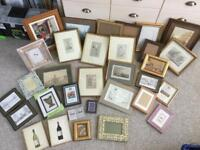 Huge Collection of Picture Frames