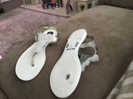 Girls jelly shoes size 2