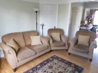 Sofas- 2 seater and 2 armchairs