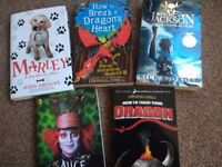 Various children's books... Very good condition... Diary of wimpy kid, hunger games and many more