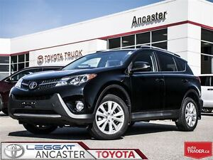 2015 Toyota RAV4 Limited WITH BEATIFUL TERRA COTTA LEATHER!!