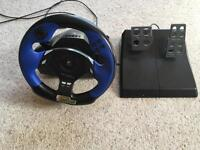 Logitech Driving Force Force Feedback PS3 Wheel