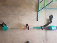 Bosch AMW10 unit with grass trimmer attachment