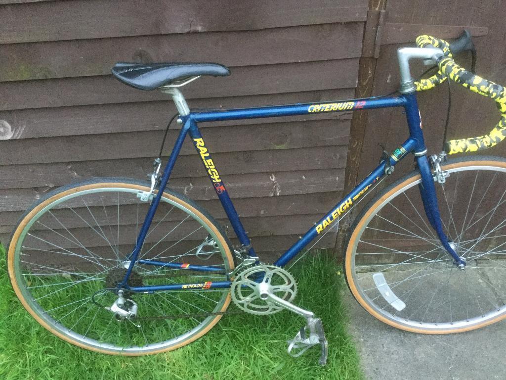 1980s vintage raleigh criterium 12 thriathlon leightweight