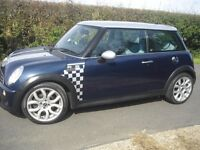 Mini Cooper S 1.6 Special Edition only 35000 miles, one lady owner since new