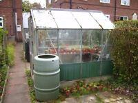 Aluminium greenhouse number 2.