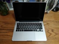 13 inch Macbook Pro Retina (Late 2013) / 8 GB / 256 GB SSD