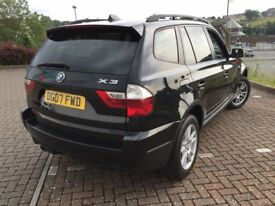 2007 BMW X3 D SE ESTATE 150 BHP 6 SPEED LOW MILEAGE