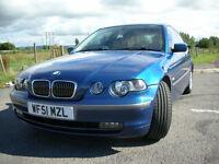 BMW 3 SERIES 2.5 325ti SE Compact 3dr