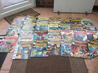 Marvel comics,horror job lot