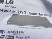 LG Free view +DVDRECORDER with HDD.