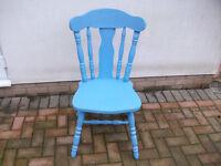 wooden nursing chair