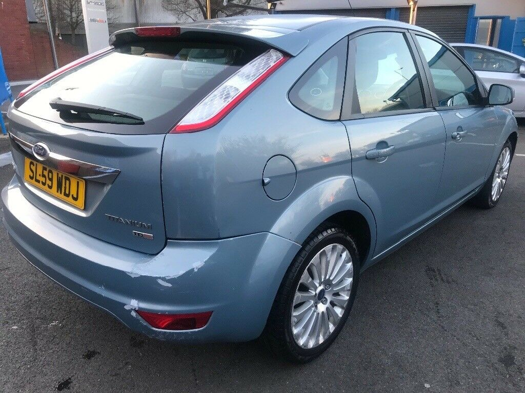 2009 FORD FOCUS TITANIUM TD 136 -2.0L -5 DOOR MANUAL 6 SPEED SEPTEMBER