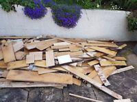 Free firewood - Engineered Hard wood floorboards