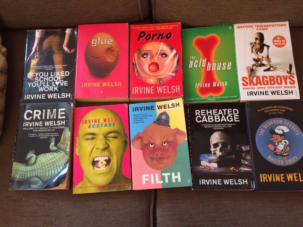 Irvine Welsh paperbacks