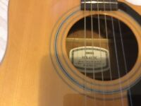 Yamaha semi acoustic guitar for sale
