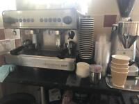 Iberital IB7 Compact 2 group coffee machine