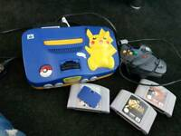 N64 limited pokemon edition