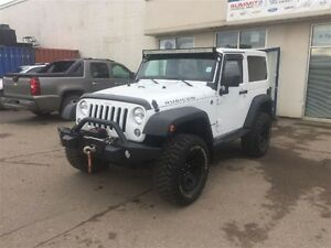 2014 Jeep Wrangler Rubicon *Mickeys* *Winch* 6000kms!!