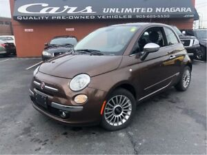 2015 Fiat 500 Lounge | NO ACCIDENTS | ROOF | ONLY 19, 160 KM ...