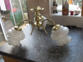 SET OF CEILING LIGHTS VERY GOOD CONDITION