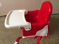 Lindam Booster Seat & Tray, great condition