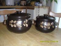 Denby Casserole Pots