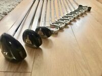 Wilson deep red golf club set pre owned 1 year old